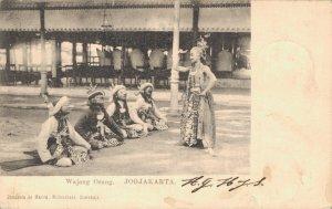 Indonesia Ned Indies Wayang orang yogyakarta Wajang 03.25