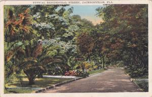 Typical Residential Street , JACKSONVILLE , Florida , 1910s