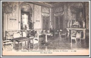 France Paris Palais de Fontainebleau Postcard
