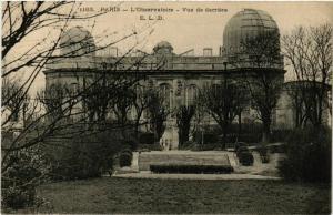 CPA PARIS 14e L'Observatoire vue de derriere ed. E.L.D. (577449)
