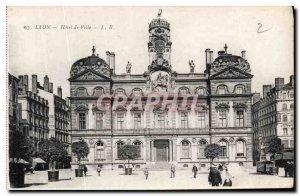 Old Postcard Lyon City Hall