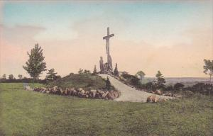 New York Auriesville The Crucifixion Group The National Shrine Of The North A...