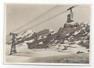 RPPC Switzerland Melchsee Frutt Schwebebahn Ski Lift Titlis