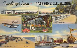 Greetings from Jacksonville America's Greatest Resorts Jacksonville FL