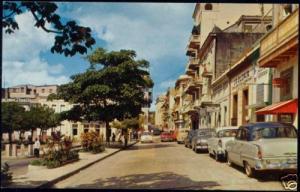 porto rico, SAN JUAN, Old San Francisco Street, Cars
