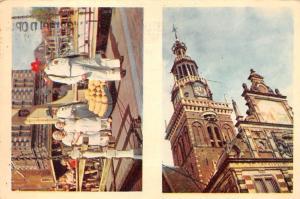 Netherlands Alkmaar Holland Market Cheese, Church Tower Eglise