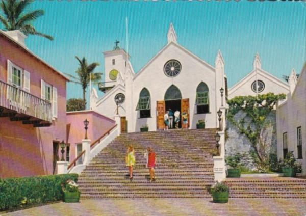 Bermuda St George's Parish St Peter's Church