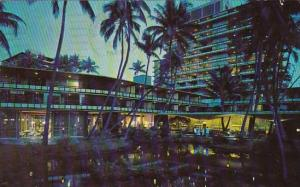 Hawaii Waikiki Hilton Hawaiian Village Hote 1968