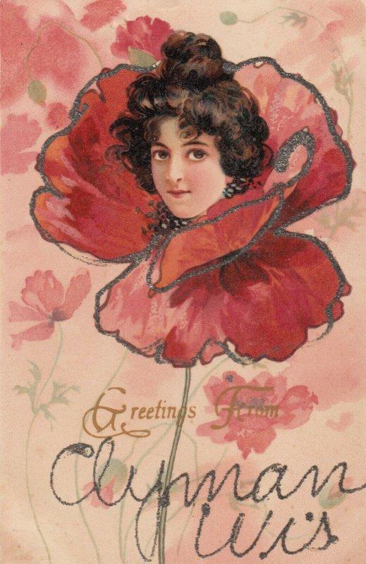 Flower Fantasy Girl , 1901-07