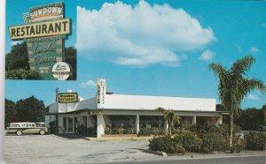 Florida Winter Haven The Sundown Restaurant Near Cypress Gardens sk0381a