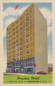 Washington D C Howard Hotel Curteich