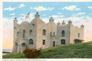 NH -  Lake Winnepesaukee &  Kimball's Castle at Belknap Point