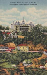 Arkansas Eureka Springs The CRescent Hotel 1957 Curteich
