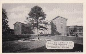 Mooney and Womack Halls Girls' Dormitories Henderson State Teachers College A...