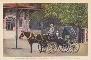 Horsedrawn buggy , MONTREAL , Quebec , Canada , 30-40s