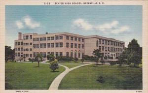 South Carolina Greenville Senior High School