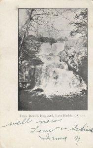 EAST HADDAM, Connecticut, PU-1923; Falls, Devil's Hopyard