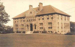 Waterville ME Colby College Chemical Hall C. Townsend 1907 Real Photo Postcard