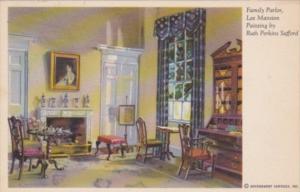 Virginia Arlington Family Parlor Lee Mansion
