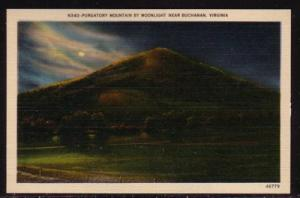 Virginia PC Purgatory Mountain by  Moonlight near Buchanan  unused