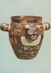 Peru Nazca Culture Primitive Art Jug Bowl Postcard