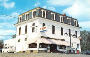 Abbot Village Maine Titcombs General Store Exxon Sign Vintage Postcard K95881