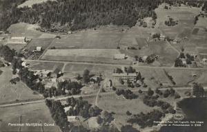 sweden, DUVED ÅRE, Pensionat Mullfjället, Aerial View