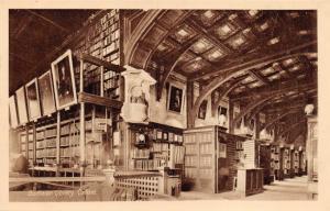 Vintage Oxford Postcard Bodlelan Library by Oxford Times Co. Ltd A2