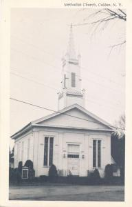 Methodist Church at Colden, Erie County NY, New York