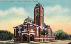 Walnut St. Baptist Church, Waterloo, Iowa, PU-1911