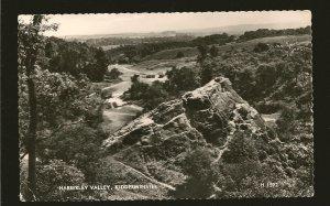 Postmark 1966 Kidderminster Worcs Habberley Valley Valentines Photo Postcard