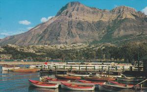 Boat Dock , Waterton Lakes National Park , Canada , 50-60s