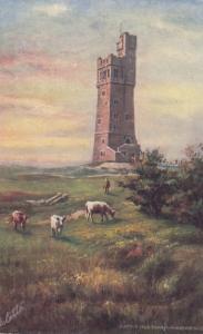 HUDDERSFIELD, England, UK, 1900-10s; Castle Hill Tower, TUCK # 7223