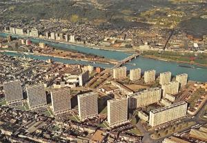 Belgium Liege Pleine de Droixhe et Meuse Pont Panorama