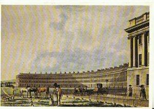 Somerset Postcard - The Royal Crecent - Bath 1769 - Ref TZ8242