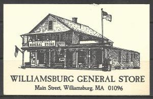 Massachusetts, Williamsburg - General Store - [MA-358]