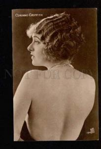 049158 Semi-Nude Corinne GRIFFITH Movie Star Vintage PHOTO PC