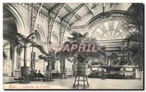 Postcard Old Spa Interior of Pouhon