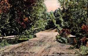Michigan Kalamazoo Lovers Lane 1909