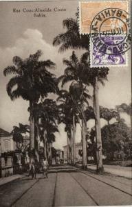 brazil, BAHIA, Rua Cons. Almeida Couto (1935) Stamps