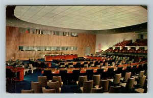 New York NY- New York, United Nations, General Assembly, Chrome c1983Postcard