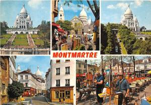 B66572 Montmartre Paris multiviews   france