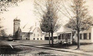 LP60  RPPC W. Oneonta New York Vintage Postcard  F. B. Church Parsonage