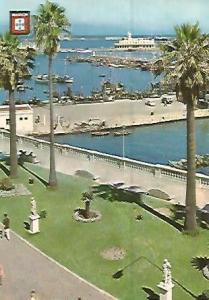 POSTAL 55889: CEUTA. Vista del puerto
