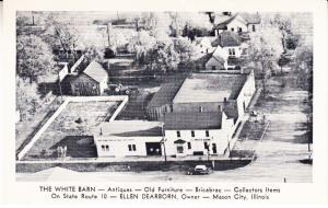 The White Barn Antiques, Mason City Aerial View