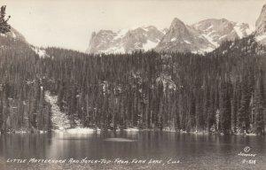RP: COLORADO, 30-40s; Little Matterhorn & Notch-Top from Fern Lake