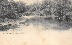 The Rahway River in Springfield, New Jersey