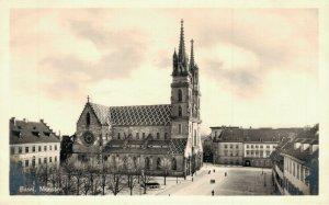 Switzerland Basel Münster RPPC 04.83