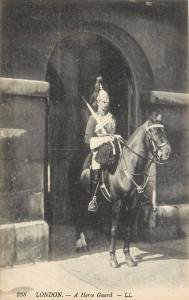 A Horse Guard London Soldier England Postcard