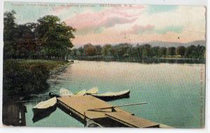 Passaic River from Life Saving Station, Paterson NJ